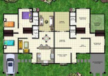 Duplex  1 Planta 300